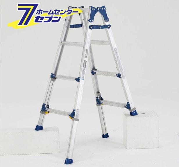 伸縮脚付はしご兼用脚立 PRE-120FX アルインコ [はしご 脚立 梯子 作業台 園芸用品 足場 現場 機材]