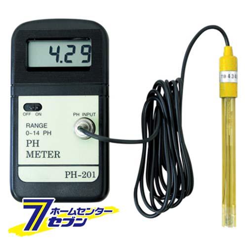 【送料無料】デジタルPHメーター PH-201 マザーツール [大工道具 測定具]