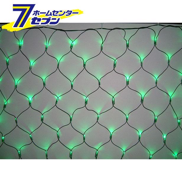 180球LEDネットライト (連結専用) /緑色/ブラックコード/防雨型/LR180G/スタンダード品 コロナ産業 [イルミネーション クリスマス]【キャッシュレス5%還元】