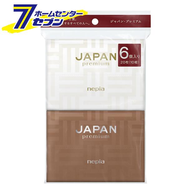 ネピア JAPAN 税込 premium お金を節約 ポケットティシュ nepia ティッシュペーパー ポケットティッシュ 6個パック