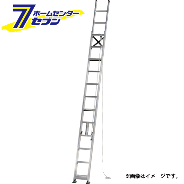 2連はしご 約5m MD-53D アルインコ [ハシゴ 梯子 園芸用品 アルミ]
