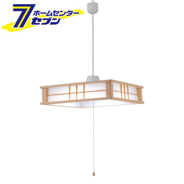 LED和風ペンダントライト 調光 8畳用 [品番]06-0194 LT-W48D8G オーム電機 [天井照明 吊り下げ]