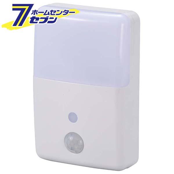 オーム電機 公式サイト 日本製 LEDナイトライト 明暗 人感センサー 品番 照明器具 NIT-ALA6MJM-WN 06-0636 センサーライト