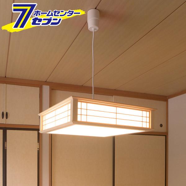 LED和風ペンダントライト 調光6畳用 電球色 [品番]06-0659 LT-W30L6K-K オーム電機 [天井照明 吊り下げ]