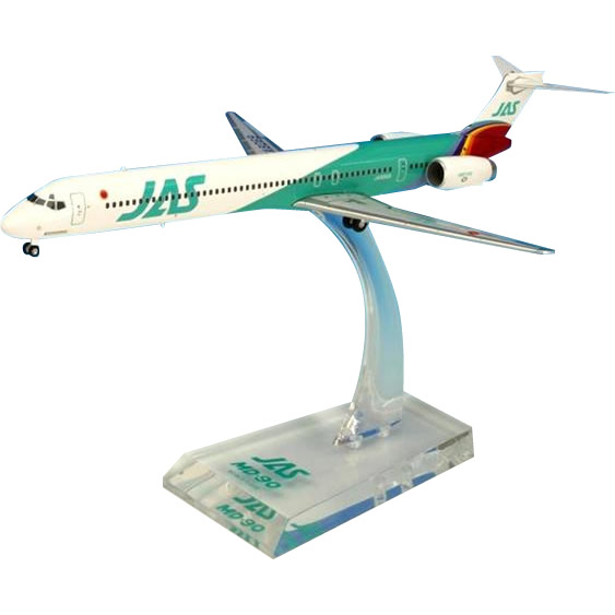 JAL/日本航空 JAS MD-90 6号機 ダイキャストモデル 1/200スケール BJE3039【キャッシュレス5%還元】【ポイントUP:2019年12月14日pm14時~12月18日am9時59】