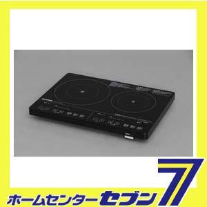 【送料無料】2口IHクッキングヒーター 200V ブラック IHC-S225-B アイリスオーヤマ [IHCS225B]