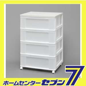 【送料無料】ウッドトップチェスト ホワイト/ホワイト W654P アイリスオーヤマ