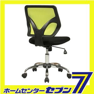 【送料無料】 弘益 メッシュバックチェア グリーン KHC-001(GN)[KHC001(GN)]【メーカー直送:代引き不可】