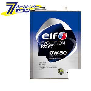 elf EVOLUTION 900 FT 0W-30 全化学合成油 1ケース(4L×6入り) エルフ [エンジンオイル 自動車]