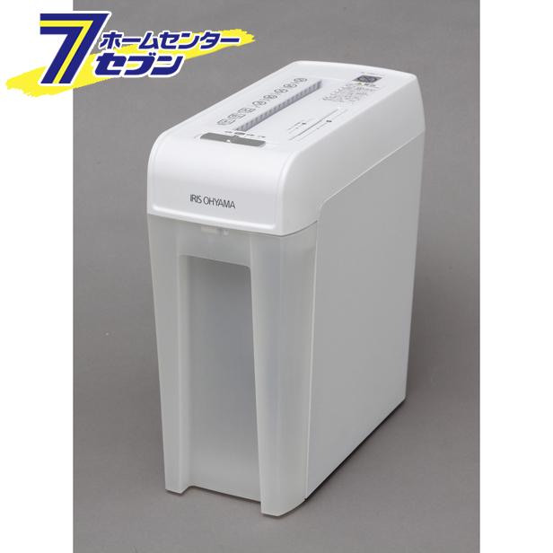 【送料無料】 細密シュレッダー ホワイト P6HMCS アイリスオーヤマ [P6HMCS]