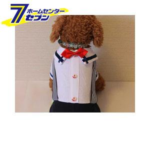 ボーイズマリンカバーオール(ネイビーxホワイト) L 【ra16003】 ルイスペット(Ruispet) [ドッグウェア ペットウェア 犬用服 犬の服 犬 洋服]