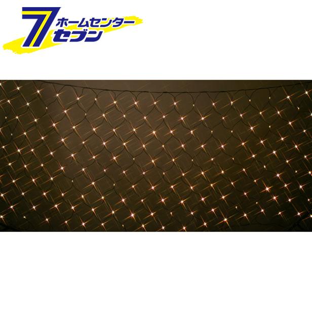 180球LEDネットライト (連結専用) /電球色/ブラックコード/防雨型/LR180D/クロスライセンス コロナ産業 [イルミネーション クリスマス]【キャッシュレス5%還元】