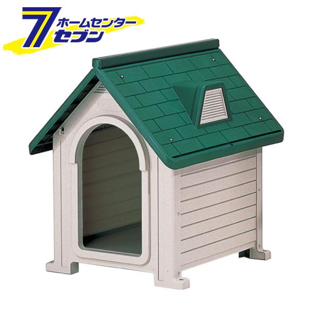 リッチェル ペットハウス DX-580 ダークグリーン [ドッグハウス 犬舎 超小型犬~中型犬 屋外]