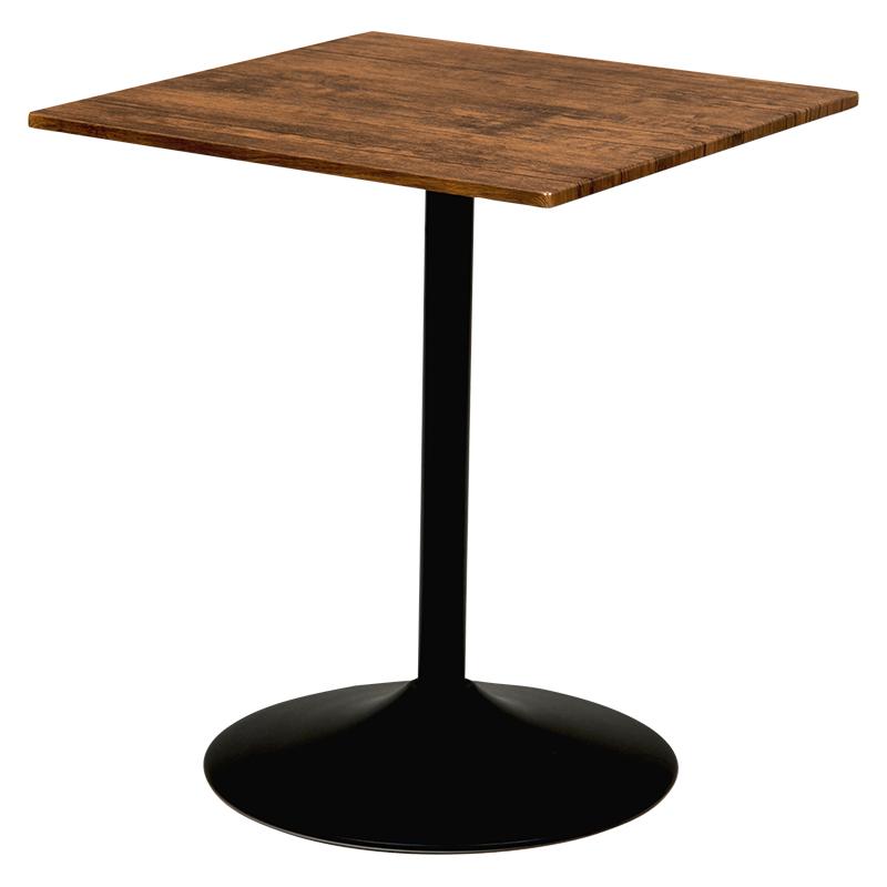 推奨 萩原 カフェテーブル 大決算セール 約 LT-4919BR 幅60×奥行60×高さ70cm