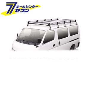 TUFREQ(タフレック) Hシリーズ 6本脚 雨どい付車(標準ルーフ) [品番:HL237A] 精興工業 [キャリア 業務用 自動車]【キャッシュレス5%還元】