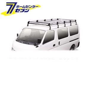 TUFREQ(タフレック) Hシリーズ 6本脚 雨どい付車(ハイルーフ) [品番:HH238B] 精興工業 [キャリア 業務用 自動車]【キャッシュレス5%還元】