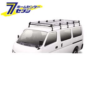 TUFREQ(タフレック) Hシリーズ 10本脚 雨どい付車(ハイルーフ) [品番:HH651B] 精興工業 [キャリア 業務用 自動車]【キャッシュレス5%還元】