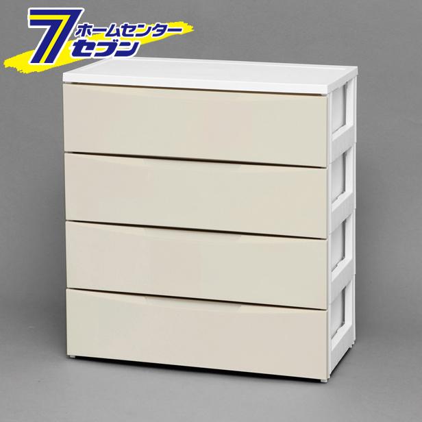 【送料無料】 ワイドチェスト ホワイト/アイボリー COD-724 アイリスオーヤマ [収納]
