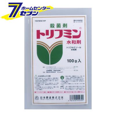トリフミン水和剤 100g (25袋セット) 日本曹達 [農薬 殺虫殺菌剤 殺菌剤 殺虫剤 予防殺菌]【キャッシュレス5%還元】