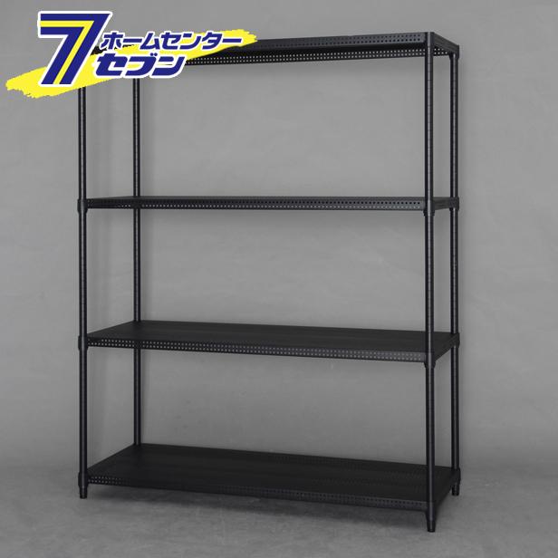【送料無料】 カラーパンチングラック ブラック CMR-P1215J アイリスオーヤマ [収納 メタルラック 棚]