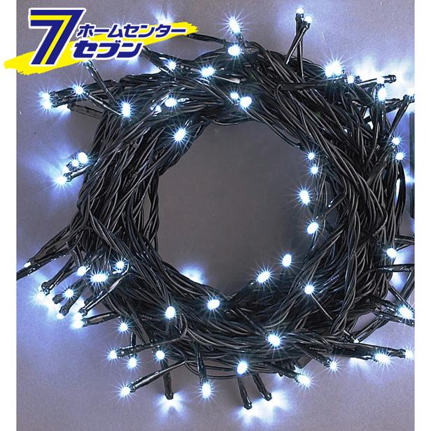 LEDストレートコードライト 200球 (連結専用) /白色/ブラックコード/防雨型/LRK200W/スタンダード品 コロナ産業 [イルミネーション クリスマス]【キャッシュレス5%還元】