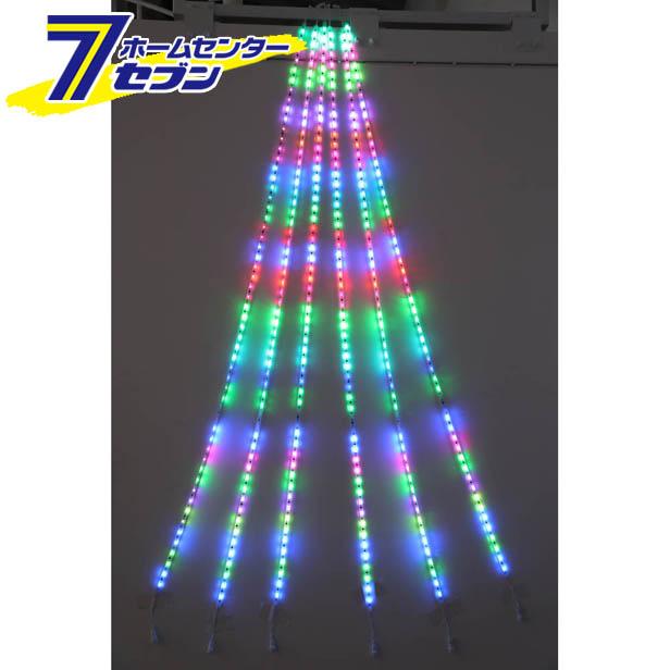 【送料無料】 コロナ産業 室内用 RGB LEDドレープライト 3m クロスライセンス品(RD3RGB) rd3rgb【点滅】【メーカー直送:代引不可】