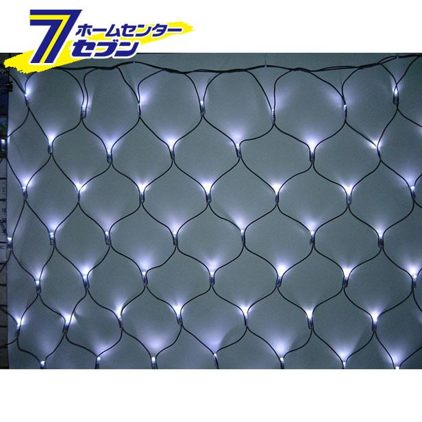 180球LEDネットライト (連結専用) /白色/ブラックコード/防雨型/LR180W/クロスライセンス コロナ産業 [イルミネーション クリスマス]【キャッシュレス5%還元】