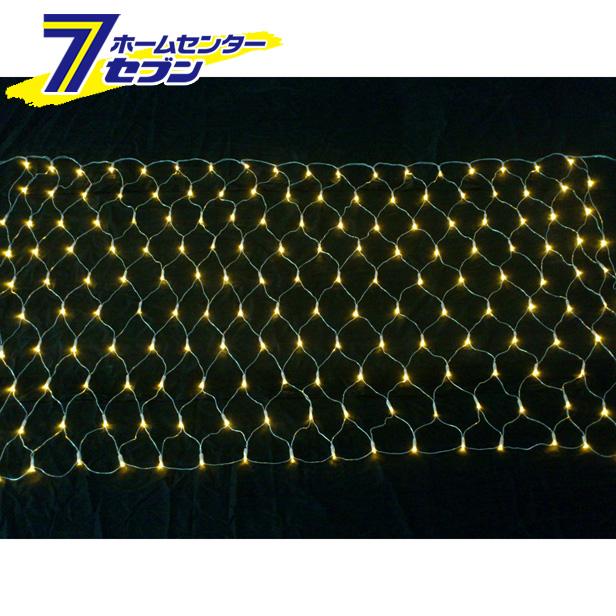 コロナ産業 180球LEDネットライト (連結専用) /電球色/シルバーコード/防雨型/LCR180D/クロスライセンス品【メーカー直送:代引不可】【キャッシュレス5%還元】