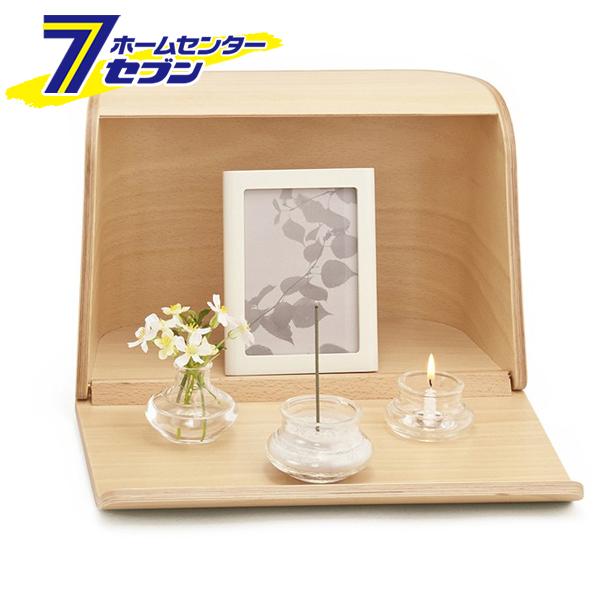 やさしい時間 祈りの手箱 ナチュラル 92461 日本香堂 nippon kodo [仏壇 仏具 写真立て 手元供養品 線香 小さい コンパクトサイズ]