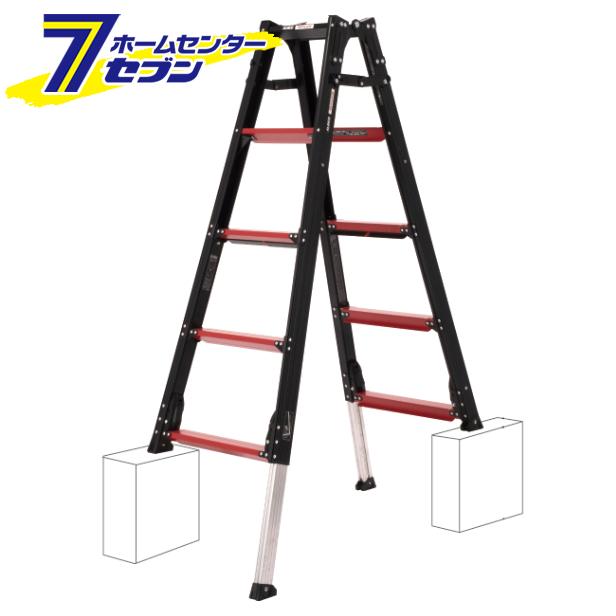 アルインコ 伸縮脚付はしご兼用脚立 約150cm GUD-150 商店 アルミ脚立 上部操作式 折り畳み 通信販売 ガウディ リベット方式 梯子 hc9 ハシゴ GAUDI 中折れ