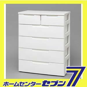 MUチェスト ホワイト/ホワイト MU-7242 アイリスオーヤマ [MU7242]