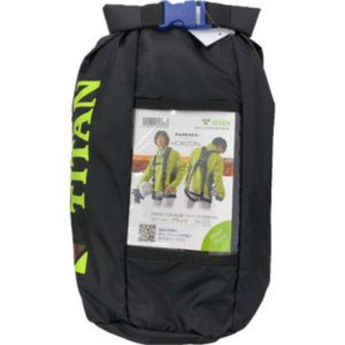 □ TITAN フルハーネス安全帯 ブラックL「新規格品」 PAHN-10A-BL型【4510620806990:10167】