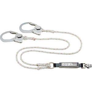 □ タイタン フルハーネス型用 ダブルランヤード ロープ式   HL-RW-BP【4510620807140:10167】