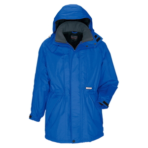 アイトス 防寒コート(男女兼用) カラー:ブルー サイズ:5L (ボウカンコート) [6160ー006]【4524851240140:11057】