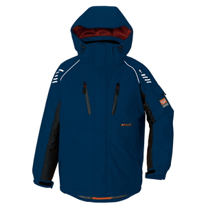 アイトス 防寒ジャケット(男女兼用) カラー:ネイビー サイズ:S (ボウカンジャケット) [6063ー008]【4548413322105:11057】