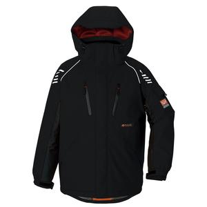 アイトス 防寒ジャケット(男女兼用) カラー:ブラック サイズ:S (ボウカンジャケット) [6063ー010]【4548413322174:11057】