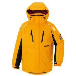 アイトス 防寒ジャケット(男女兼用) カラー:イエロー サイズ:L (ボウカンジャケット) [6063ー019]【4548413322266:11057】