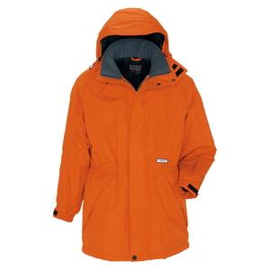 アイトス 防寒コート(男女兼用) カラー:オレンジ サイズ:LL (ボウカンコート) [6160ー063]【4932514529691:11057】