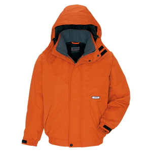 アイトス 防寒ブルゾン(男女兼用) カラー:オレンジ サイズ:5L (ボウカンブルゾン) [6161ー063]【4932514549842:11057】