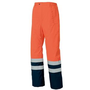 アイトス 高視認性防水防寒パンツ カラー:オレンジ サイズ:5L (コウシニンセイボウカンパンツ) [8962ー063]【4548413582523:11057】