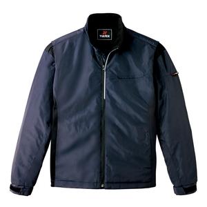 アイトス アームアップ防寒ジャケット(男女兼用) カラー:ブラック サイズ:SS (ボウカンジャケット) [50115ー010]【4548413842177:11057】
