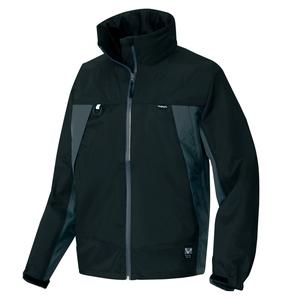 アイトス 全天候型ジャケット カラー:ブラック サイズ:5L (ディアプレックスジャケット) [56301ー010]【4548413326851:11057】