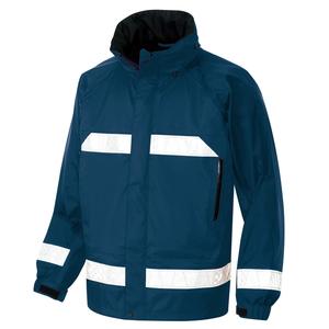 アイトス 全天候型リフレクタージャケット(男女兼用) カラー:ネイビー サイズ:3L (ディアプレックスレインJK) [56303ー008]【4548413406010:11057】