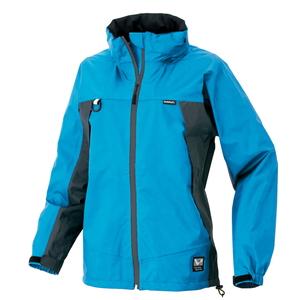 アイトス 全天候型レディースジャケット カラー:ブルー/チャコール サイズ:15 (レディースジャケット) [56312ー006]【4548413796586:11057】