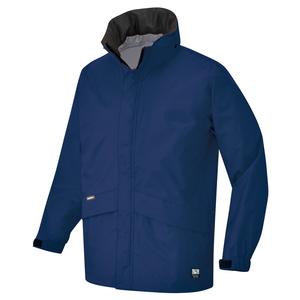 アイトス 全天候型ベーシックジャケット カラー:ネイビー サイズ:5L (ディアプレックスジャケット) [56314ー008]【4548413796807:11057】