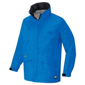 アイトス 全天候型ベーシックジャケット カラー:スチールブルー サイズ:4L (ディアプレックスジャケット) [56314ー016]【4548413796869:11057】