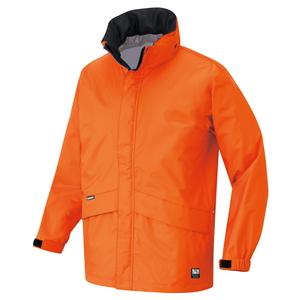 アイトス 全天候型ベーシックジャケット カラー:オレンジ サイズ:4L (ディアプレックスジャケット) [56314ー063]【4548413796937:11057】