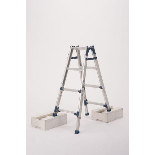 作業 安全 脚立 梯子 PRE120FX 出荷 安値 アルインコ ALINCO 伸縮脚付はしご兼用脚立