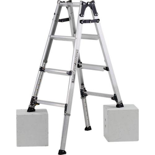ALINCO(アルインコ) 伸縮脚付はしご兼用脚立 PRW120FX【4969182239577:11590】