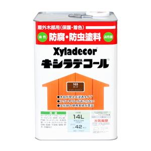 ●大阪ガスケミカル キシラデコール チーク 14L 【4571152252037:12168】